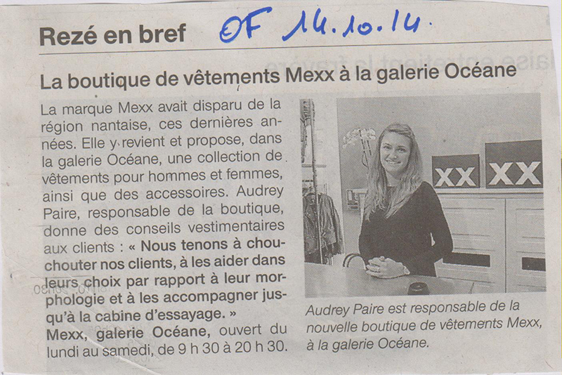 14.10.2014---OUEST-FRANCE---MEXX
