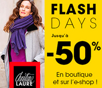 Christine Laure Bon plan Flash Days 2019