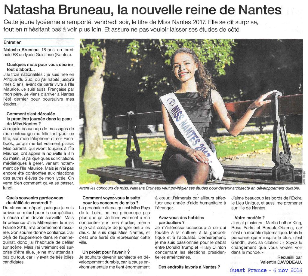 MISS NANTES OF 06 11 16