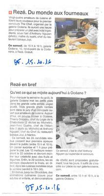 The Chef OUEST FRANCE 15 10 16